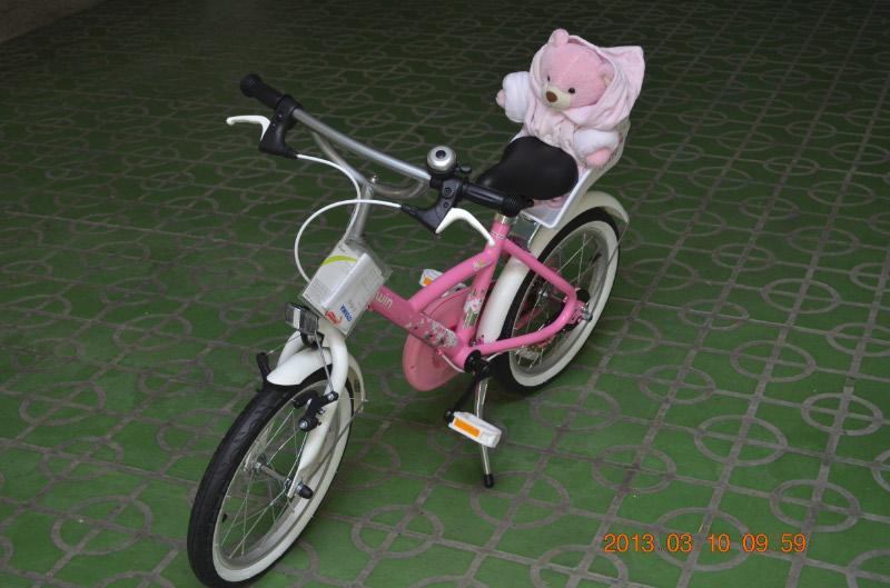 小Baby + 腳踏車